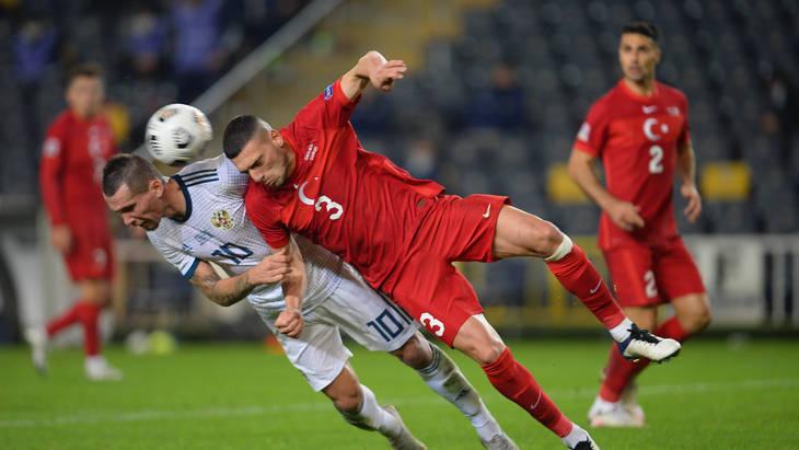 Безвыигрышная серия сборной России достигла пяти матчей