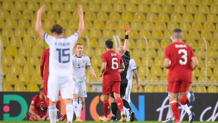Решения Шимона Марчиняка стали ключевыми в матче Турция — Россия