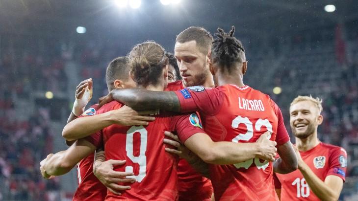 Игроки сборной Австрии