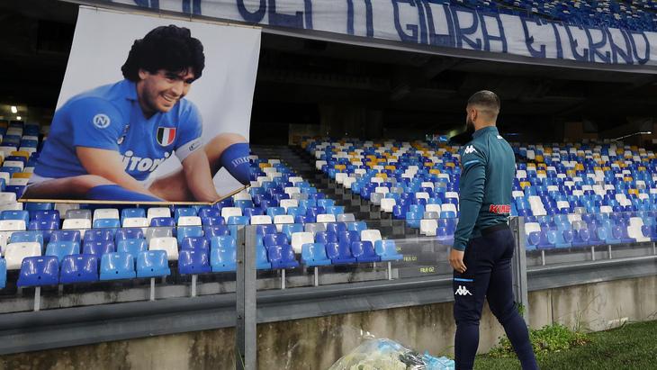 Стадион в Неаполе назван в честь Марадоны