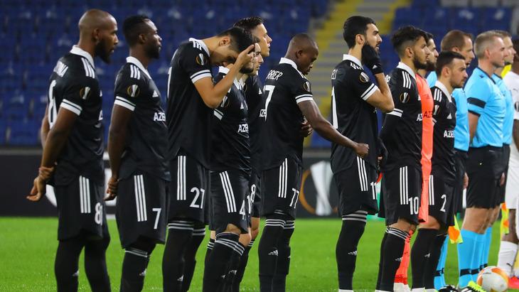 Футболисты «Карабаха»