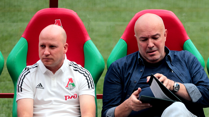Марко Николич и Василий Кикнадзе