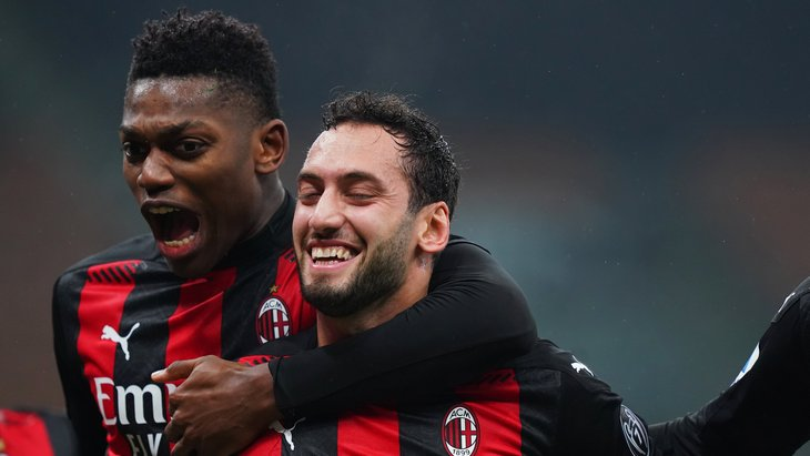 «Милан» забивал не менее двух мячей в каждом из 16-ти предыдущих матчей Серии А