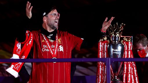«Ливерпуль» стал чемпионом впервые за 30 лет