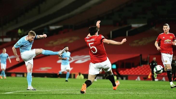 «Манчестер Сити» в четвертый раз кряду вышел в финал Кубка лиги