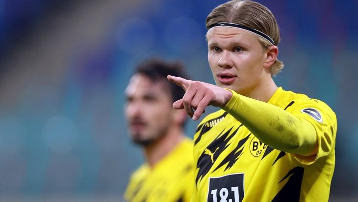 Холанд оформил дубль против «Лейпцига»