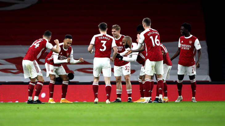 «Арсенал» ни разу не пропустил в пяти последних матчах