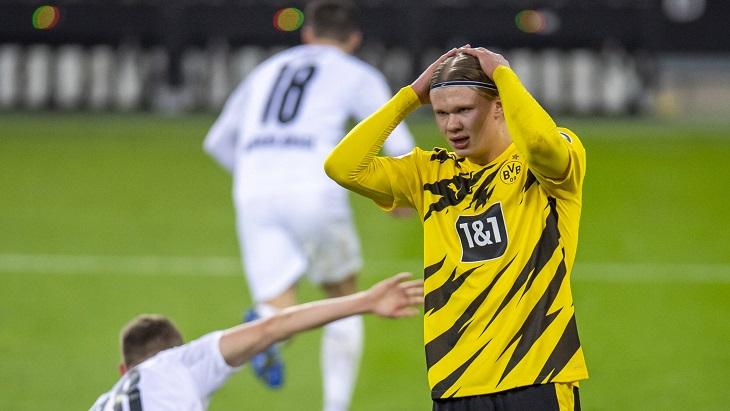 «Дортмунд» не выигрывает уже три матча