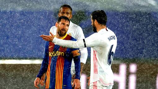 Лионель Месси не забивал в матчах против «Реала» с 2018 года
