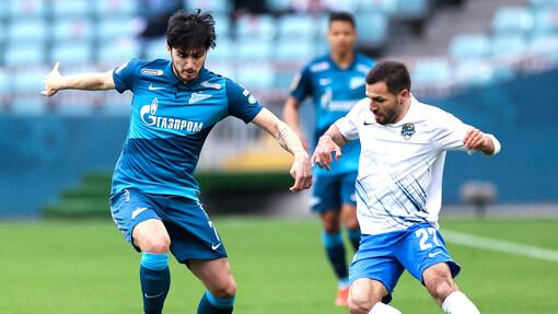 Сердар Азмун в матче с «Сочи»