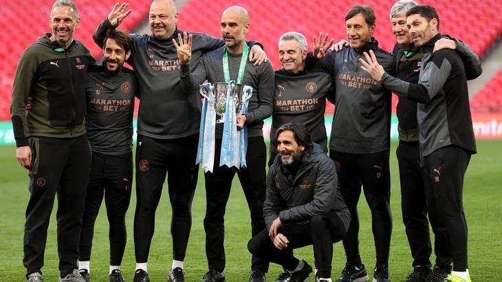 «Манчестер Сити» в четвертый раз кряду выиграл Кубок Лиги