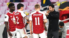 Микель Артета и игроки «Арсенала»