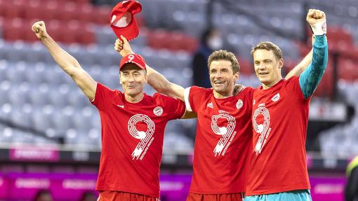 «Бавария» выиграла 9-й титул кряду