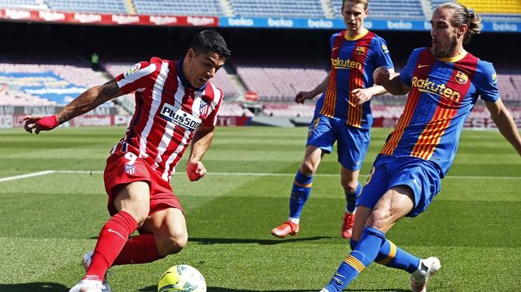 «Атлетико» и «Барселона» вместе с «Реалом» борются за золото