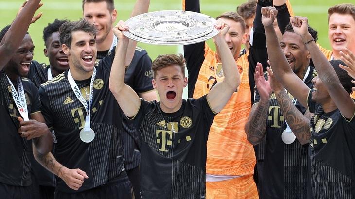 «Бавария» в девятый раз кряду стала чемпионом
