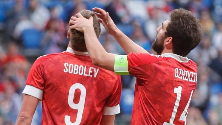 Александр Соболев и Георгий Джикия