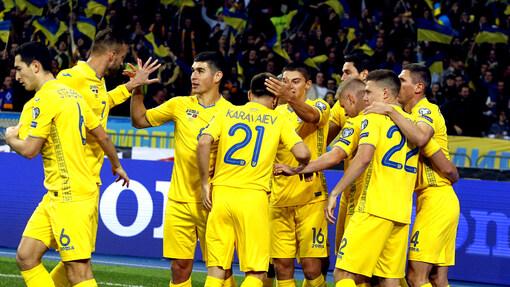 Сборная Украины в отборе на Евро оставила позади себя даже Португалию