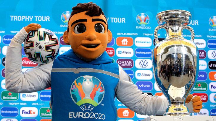 Маскот Евро-2020