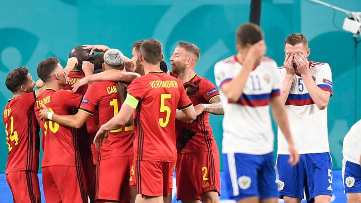 Бельгия — Россия