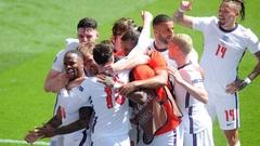 Англия победила Хорватию на старте Евро-2020