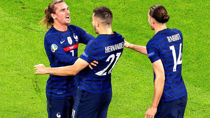 Франция разгромила Германию в 1-м матче
