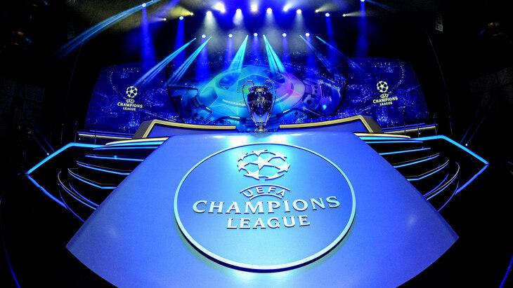 Жеребьёвка Лиги чемпионов УЕФА