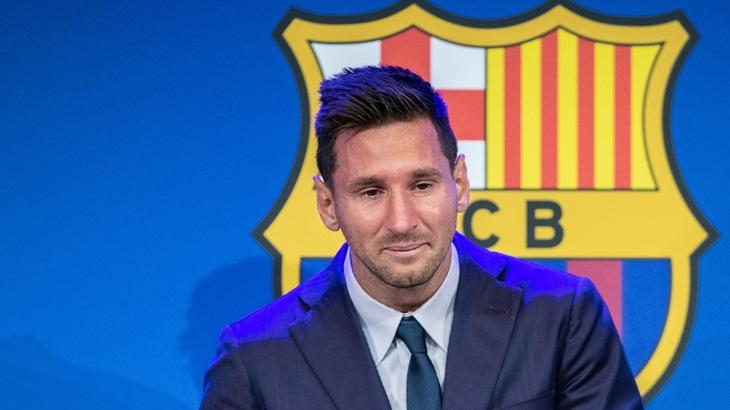 Слезы Месси подчеркнули несчастья «Барселоны»