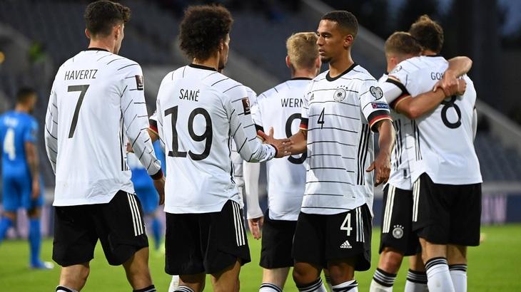 Германия выиграла три прошлых матча с разницей 12-0