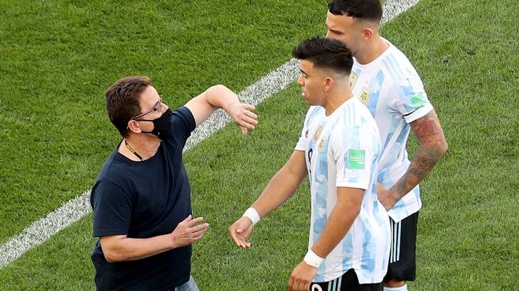 Аргентинские игроки нарушили санитарные правила Бразилии