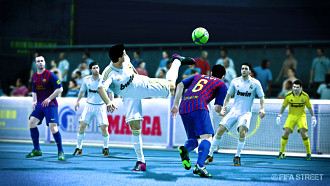 Противостояние «Реала» и «Барселоны» в «FIFA Street»