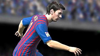 Скриншот «FIFA 13»  с Лионелем Месси