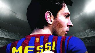 Лионель Месси на обложке «FIFA 13»