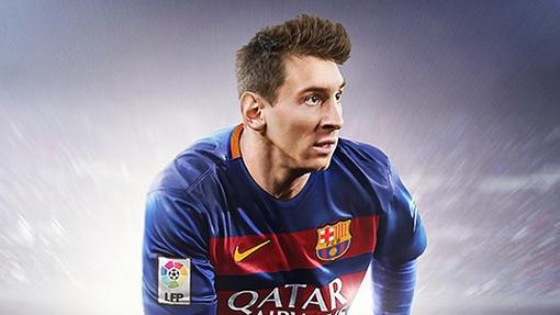 Обложка общемирового издания игры FIFA 16