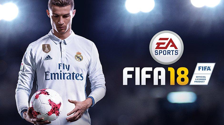 Криштиану Роналду — лицо новой FIFA 18