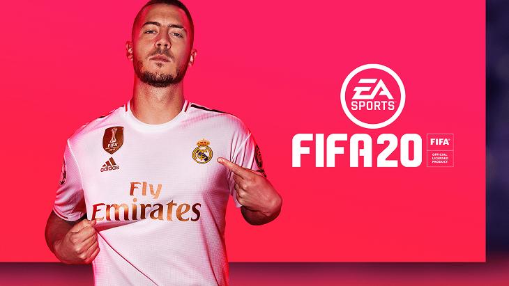 Обложка FIFA 20