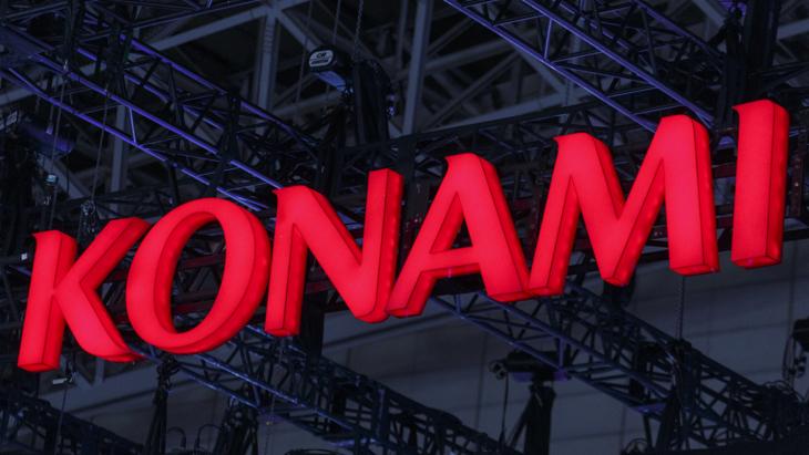 Логотип Konami в Токио