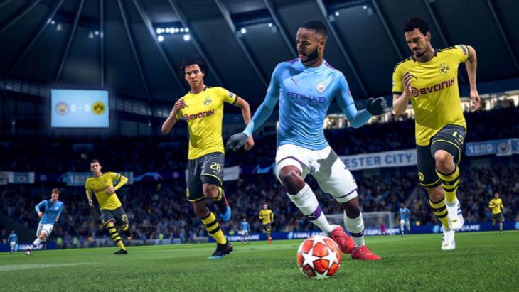 Геймплей в FIFA 20