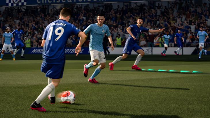 Кадр из FIFA 21