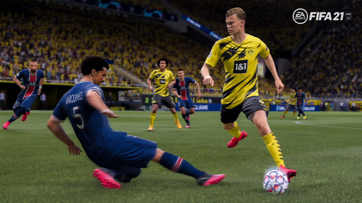 Скриншот из FIFA 21