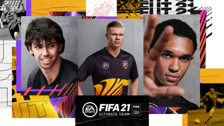 Обложка трейлера к FIFA 21