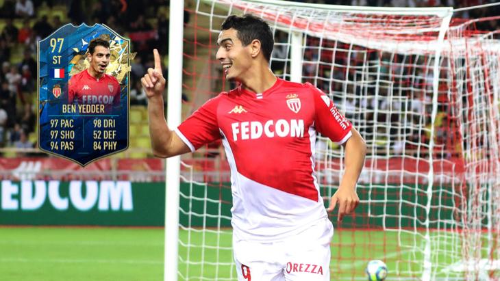 Карточка Бен Йеддера в FIFA 21