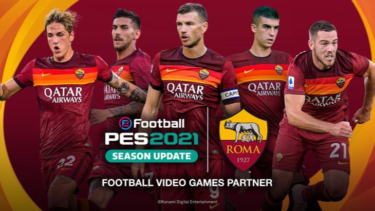 «Рома» в PES 2021