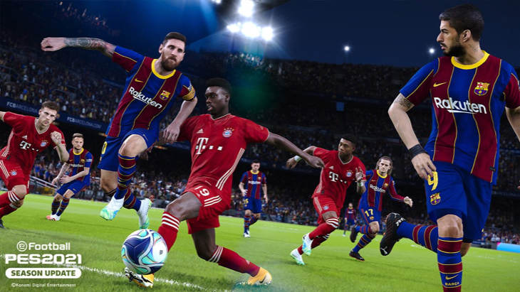 «Барселона» — «Бавария» в PES 2021