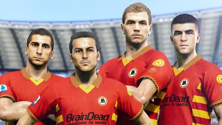 «Рома» в eFootball PES 2021