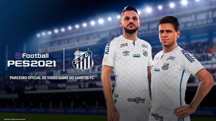 «Сантос» в eFootball PES 2021
