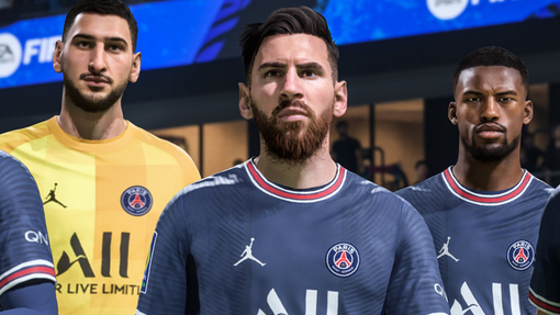 Лео Месси в FIFA 22