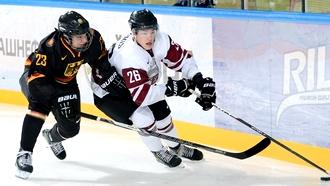 Латвия покинула элиту молодежного хоккея