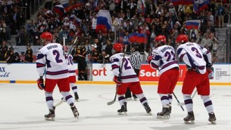 Юниорская сборная России уступила США