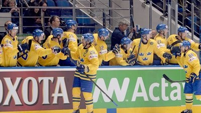 Шведы захватили лидерство в группе А на ЧМ в Минске