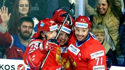 Сборная России реабилитировалась за поражения от шведов и финнов